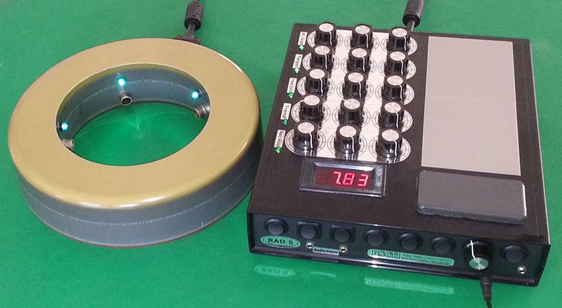 orgonite ring chi generator rad 5